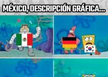 Los memes del México vs Corea del Sur