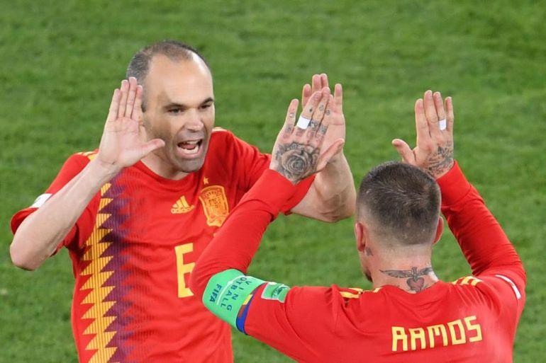 España pasó a los octavos de final
