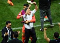 Juan Carlos Osorio cantó con Christian Nodal