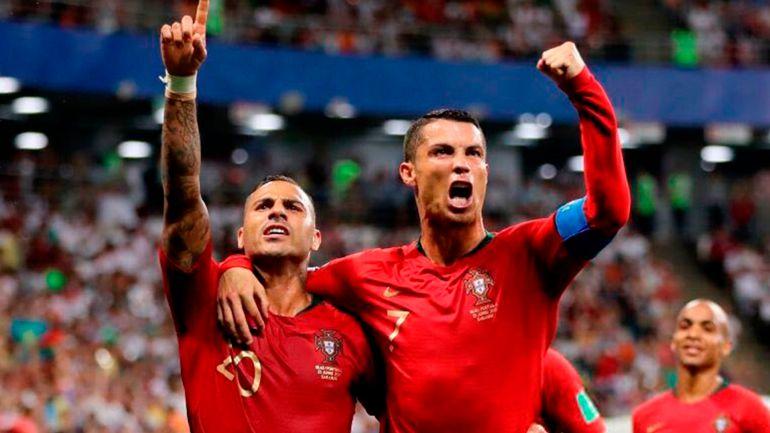 Cristiano Ronaldo, Rusia 2018, España: Irán le sacó el empate a Portugal