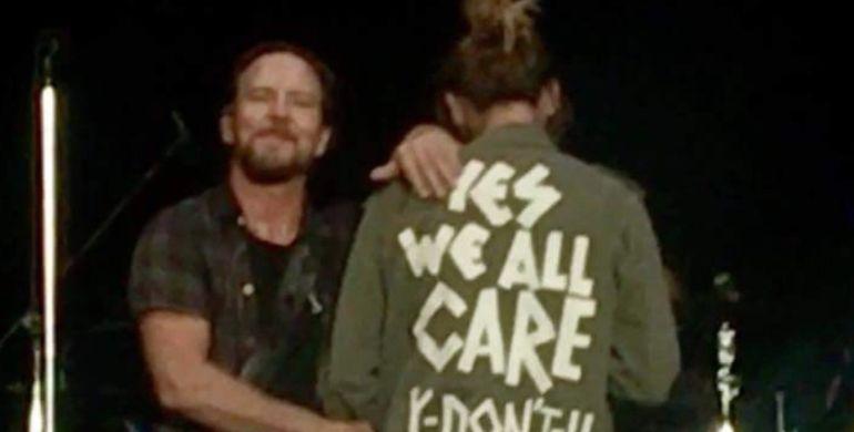 Jill Vedder esposa de vocalista de Pearl Jam: Esposa del vocalista de Pearl Jam responde a Melania Trump