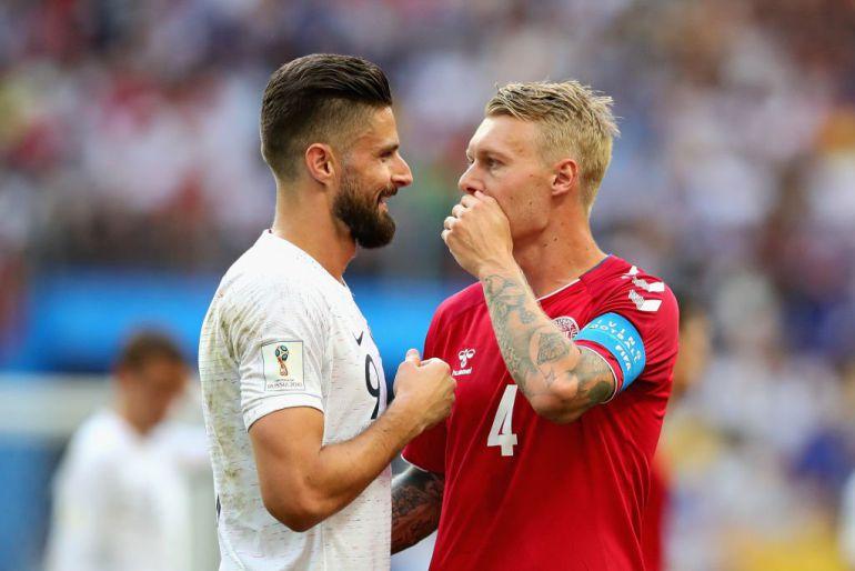 Somnífero empate entre Dinamarca y Francia, Francia Rusia 2018, Griezmann: Somnífero empate entre Dinamarca y Francia
