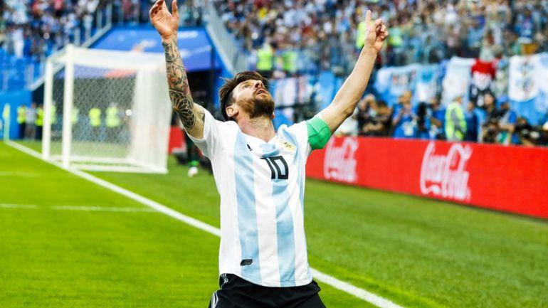 Argentina clasifica a octavos de final en Rusia 2018: Argentina clasifica de forma cardíaca