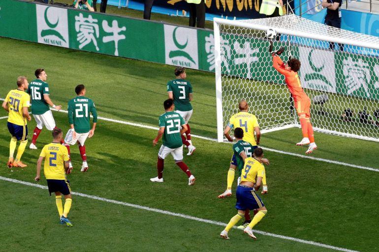 México pasa a Octavos de final en Rusia 2018: México pasa a Octavos de Final con sufrimiento