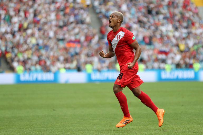 Perú logró su primer triunfo en la Copa del Mundo