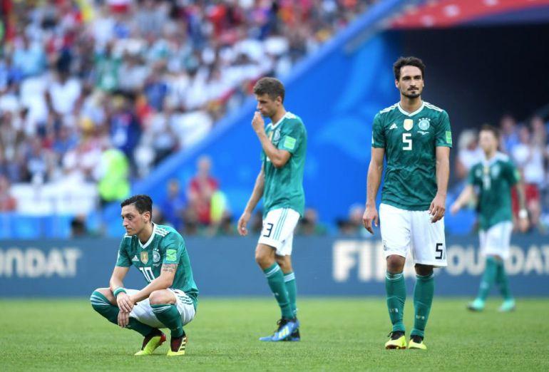 Alemania es eliminado de Rusia 2018: Alemania queda fuera de Rusia 2018