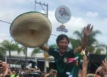 Aficionados mexicanos celebraron a Corea del Sur