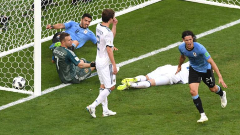 Cristiano Ronaldo, Rusia 2018: ¡CR7 fuera! Uruguay avanza