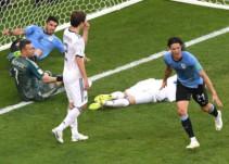 ¡CR7 fuera! Uruguay avanza