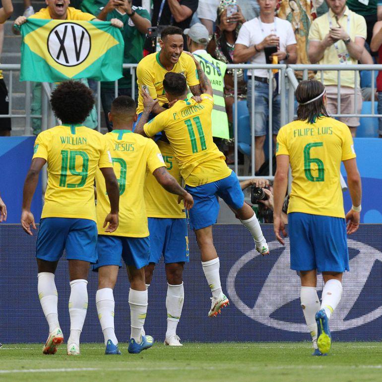 Brasil ganó de manera sencilla a México