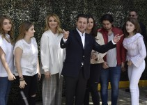 Vota EPN y reitera respaldo a su sucesor