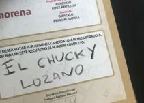 Luis Miguel , 'Chucky Lozano' y Zague aparecen en las boletas electorales