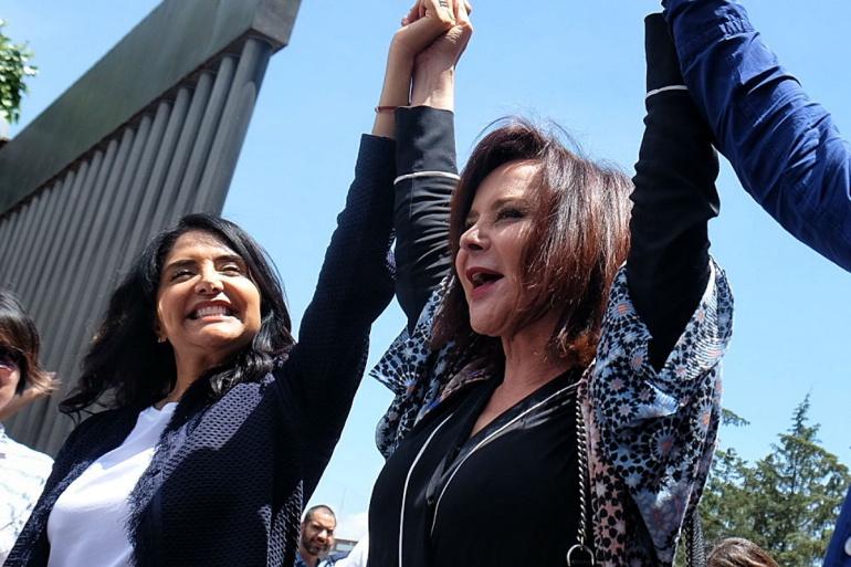 Puri, Purificación Carpinteyro, 1 dejulio, elecciones, vota, México: Purificación Carpinteyro olvida su credencial a la hora de ir a votar