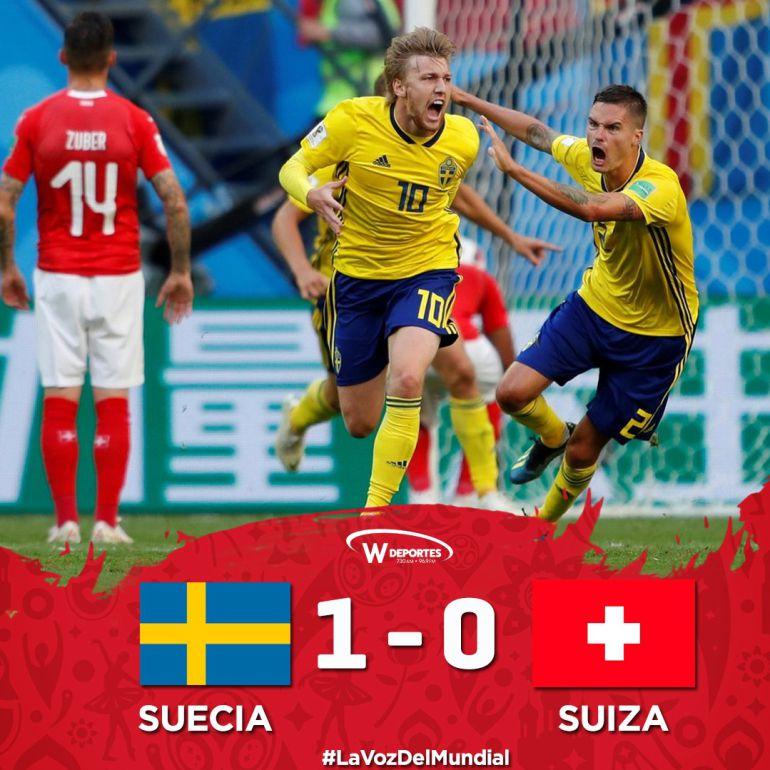 Suecia va a los cuartos de final