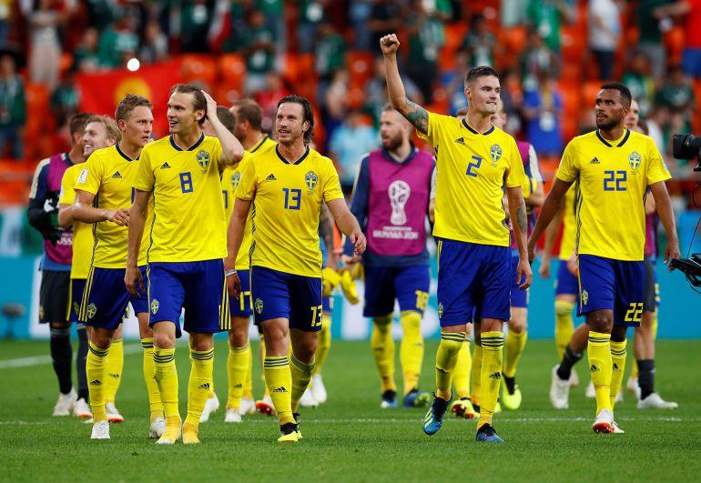 Selección de fútbol de Suiza vs Suecia Mundial 2018: Suecia sorprendió a Suiza