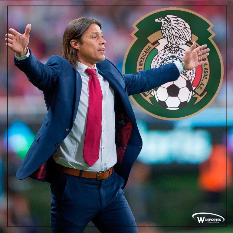 Matías Almeyda puede llegar a la Selección Mexicana