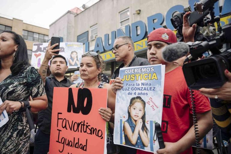 niña atropellada en Brooklyn es Mexicana: Niña es atropellada en Brooklyn y la conductora huye