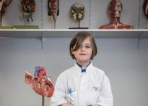 Laurent Simons con ocho años de edad ya es universitario