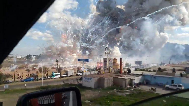 Las peores explosiones en Tultepec: Las peores explosiones de polvorines en Tultepec