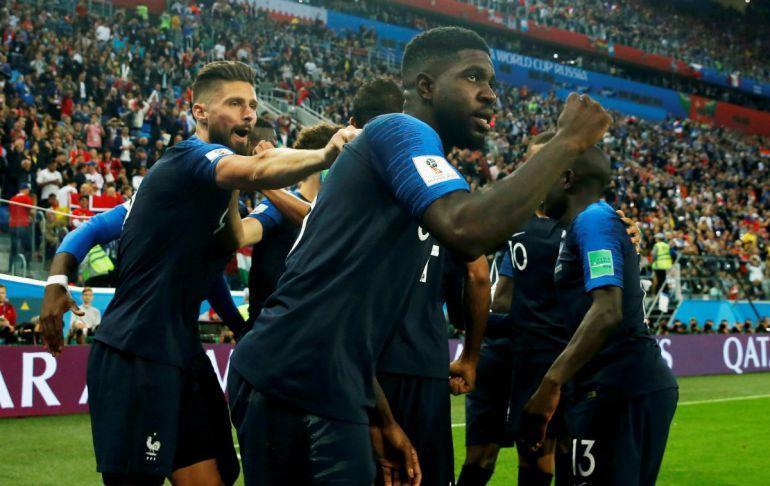 Francia regresa a una final de Copa del Mundo, Francia elimina a Bélgica: Francia regresa a una final de Copa del Mundo
