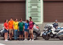 Jóvenes lograron burlar la prohibición del símbolo LGBTTTI en Rusia