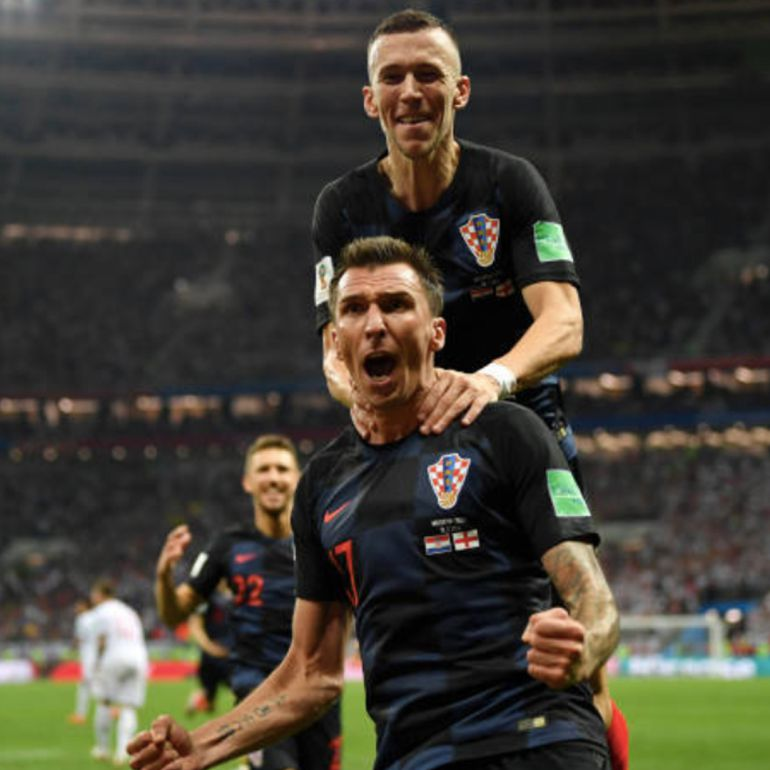 Croacia va a la final de Rusia 2018