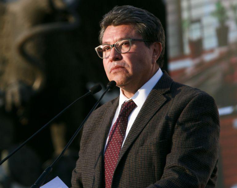 Ricardo Monreal será el coordinador de Morena en el Senado