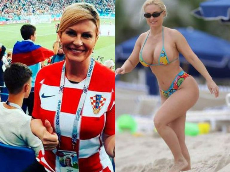 ¡Kolinda Grabar-Kitarović, se lleva los reflectores del mundial!