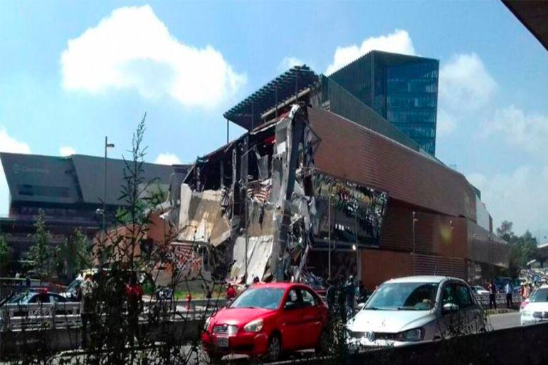 vialidad Ciudad de México: Conoce las alternativas viales tras derrumbe en Plaza Artz Pedregal