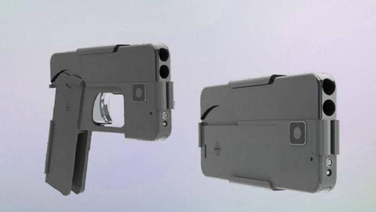 pistola con forma de celular: Clientes reciben su pistola con forma de celular