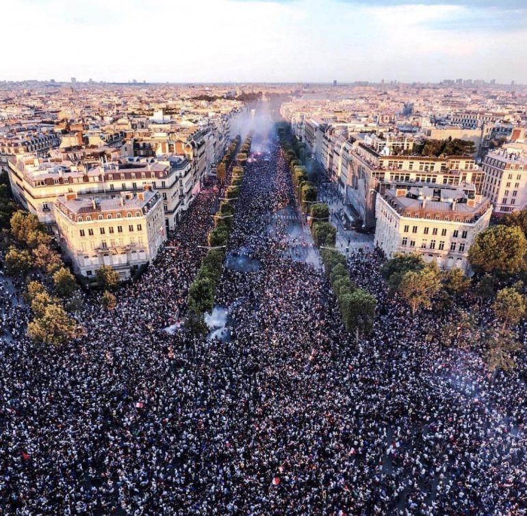 Francia, festejos, Rusia 2018: Festejos en Francia dejan muertos