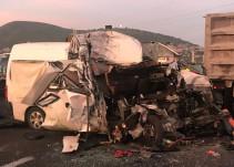 Accidente en la México- Pachuca deja 12 muertos