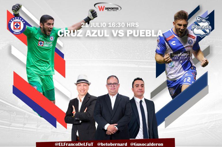 en vivo online Cruz Azul vs Puebla: En vivo: Cruz Azul vs Puebla