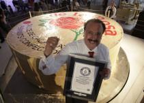 El mazapán más grande del mundo rompe récord