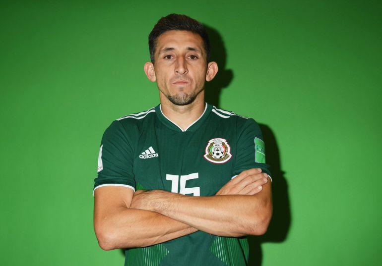 Héctor Herrera antes y después
