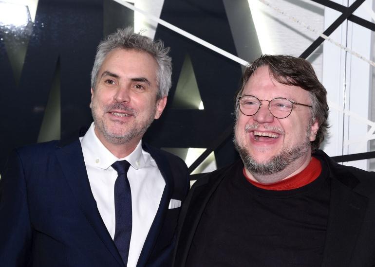 Del Toro y Cuarón producirán una película juntos: Del Toro y Cuarón producirán una película juntos