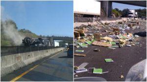 Camión de libros en Veracruz se salvó de saqueos