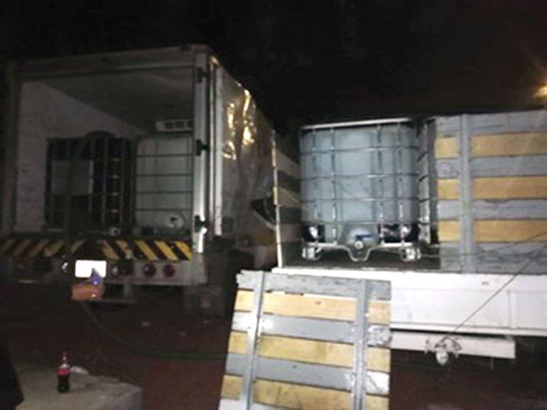 robo de gasolina, panteón: Detienen a sujeto por robo de combustible en un panteón