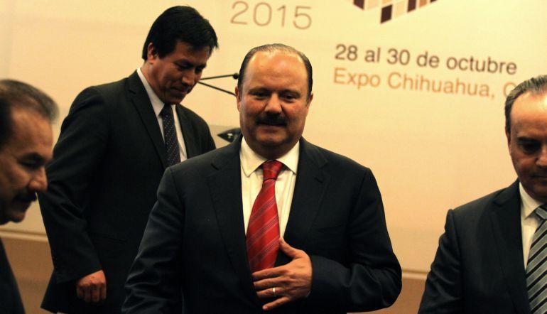 Otorgan amparo al ex gobernador César Duarte