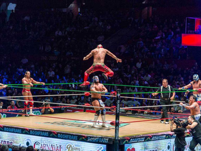 La lucha libre ya es patrimonio cultural de la CDMX