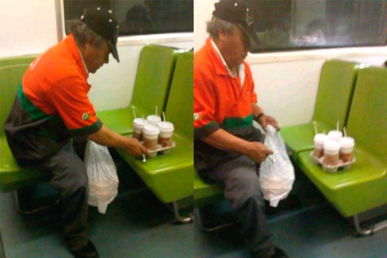Amenzan a joven que difundió las fotos del trabajador del Metro