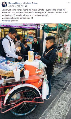 Vendedor de café metro Ermita: Vendedor de café devuelve dinero y se hace viral