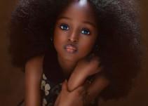 Niña nigeriana, la más bonita del mundo