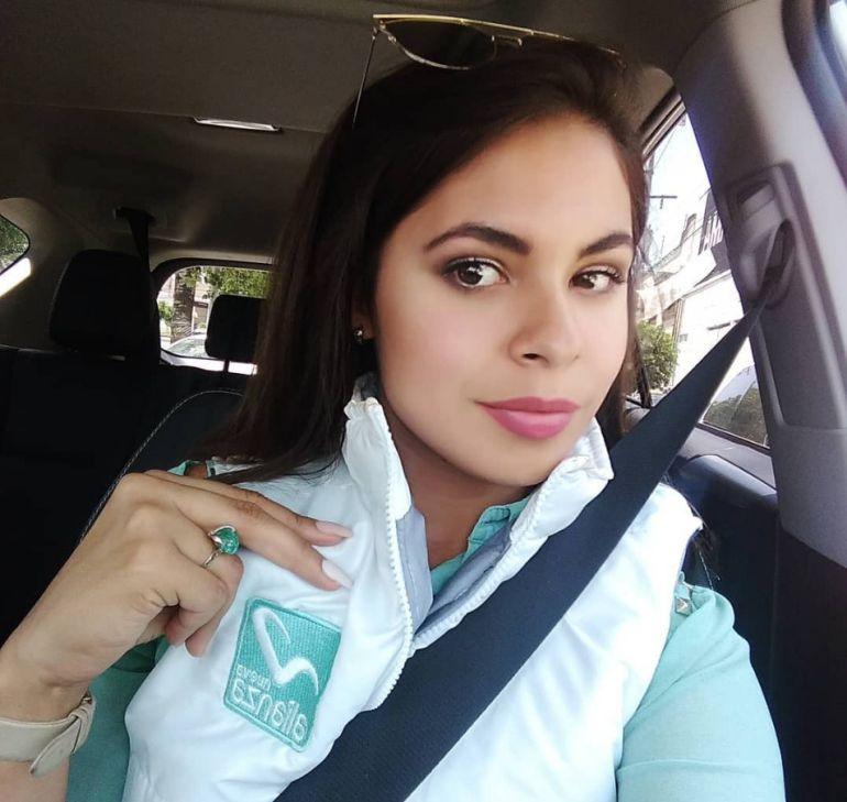 """Ana Sofía Orellana y PlayBoy: De candidata a """"conejita"""" de Playboy"""