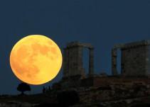 Eclipse Lunar: Las mejores fotos de la luna de sangre