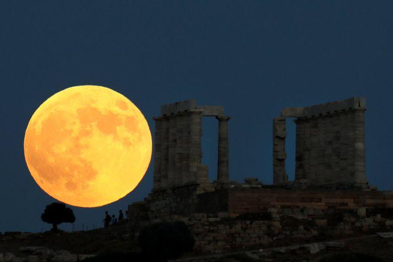Foto eclipse lunar más largo