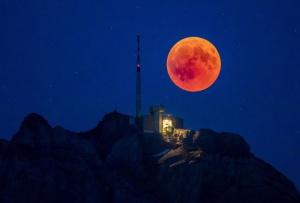 Foto eclipse lunar 2018