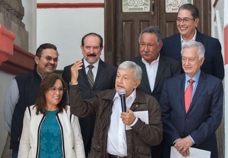 AMLO Pemex: Presenta López Obrador a su equipo energético