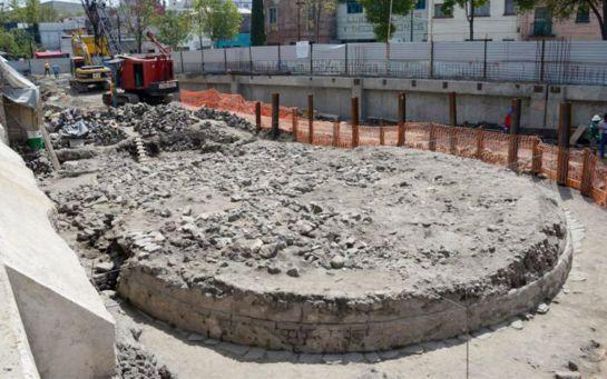 Conoce el templo oculto bajo un estacionamiento de la CDMX