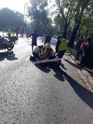 Fallece de un infarto participante en el Medio Maratón de la CDMX